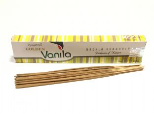 Vijayshree Golden Incense Sticks - Vanilla (15g = 15 sticks approx.) (2)